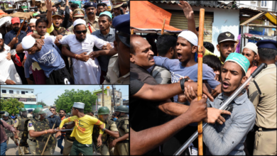 Photo of Tension continue at Amberpet Mosque, Police arrests 10 youngsters
