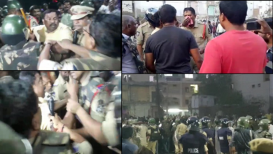 Photo of Tension prevails at Amberpet after two groups clash over Masjid land – Raja Singh arrested