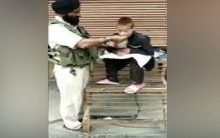 J&K: CRPF man commended for feeding specially-abled boy