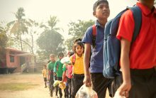 Unique school in Assam accepts plastic waste as school fees!
