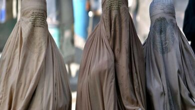 Photo of MES President receives death threat after burqa ban