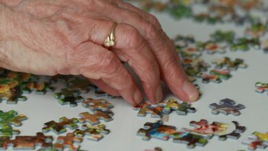 Photo of Playing puzzles makes brains of older adults sharper