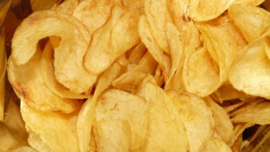 Photo of Don't eat too much potato chips during pregnancy