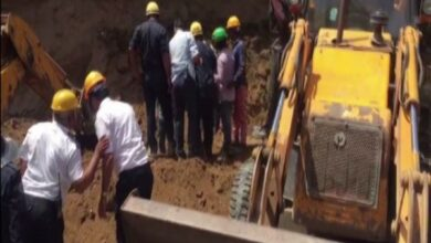 Photo of Gujarat: Wall collapse in Surat leaves one dead, one injured