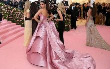 Deepika almost tripped on her dress at Met Gala