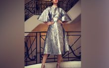 Diana Penty bids adieu to Cannes in lustrous grey outfit