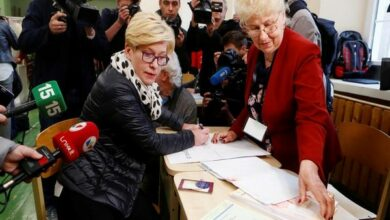 Photo of Lithuania goes to polls to elect new president
