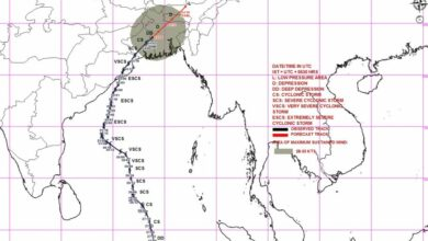 Photo of Cyclone Fani to 'weaken further' in next 6 hours, lay centred over Bangladesh: IMD