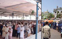 First Friday prayer of Ramadan in Hyderabad