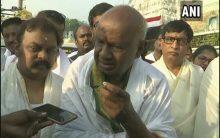 LS polls: HD Deve Gowda reiterates support to Congress