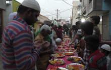 Iftar party at Moin bagh | Hyderabad