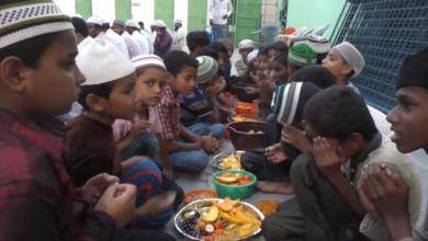 Photo of Iftar party at Jalal Baba nagar Attapur