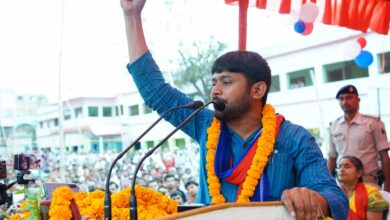 Photo of Kanhaiya Kumar joins anti-CAA protests