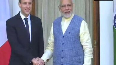 Photo of French Prez makes congratulatory phone call to PM Modi