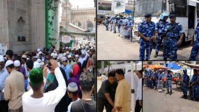 Photo of On 12th anniversary of Makkah Masjid Blast, Security beefed up at Charminar