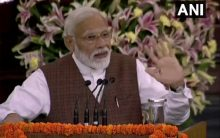 Modi reaches out to minorities, coins new slogan 'trust of all'