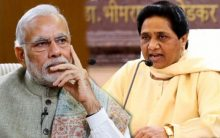 "Mayawati blasts Modi for leaving his ""Innocent wife."""