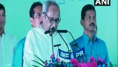 Photo of Naveen Patnaik sworn-in as Odisha CM for record 5th term