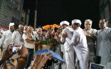 Delhi: Congress holds public meeting