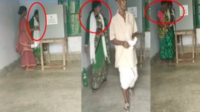 Photo of Caught on camera: Polling agent tries to influence voters