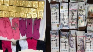 Photo of DRI arrests woman passenger with 11.1 kg gold