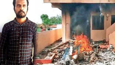 Photo of Telangana: Angry public burned down house of alleged rapist