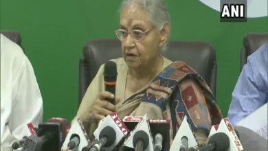 Photo of Sheila Dikshit condemns attack on Arvind Kejriwal