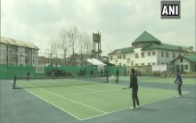 J-K govt organizes special camp to promote soft tennis