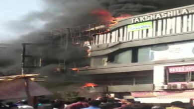 Photo of Surat fire toll rises to 23, two students on ventilator