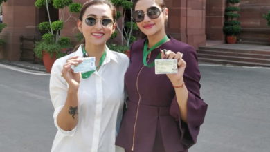 Photo of TMC MPs Nusrat, Mimi trolled for wearing western outfit in Parliament – Pics inside