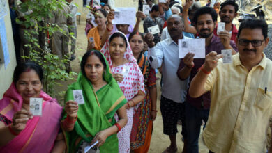 Photo of LS polls: Over 51 per cent polling recorded till 5 pm, WB leads tally