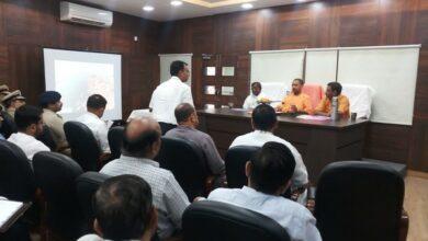 Photo of Adityanath assesses preparations ahead of PM Modi's Varanasi visit