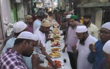 Iftar party at Rasool pura Secunderabad