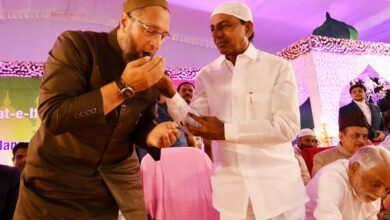 Photo of CM KCR Grand Iftar Party at LB Stadium | Hyderabad