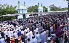 Eid-ul-Fitr Prayers at Eid Gah Mir Alam
