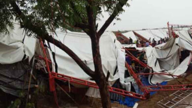 Photo of Rajasthan tent collapse toll rises to 15, Gehlot visits spot