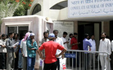 Indian Consulate in Dubai offer help to 300 unpaid workers