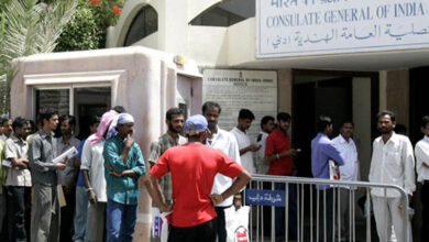 Photo of Indian Consulate in Dubai offer help to 300 unpaid workers