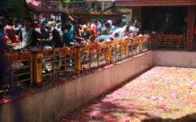 Kashmir: Thousands of devotees celebrated Mela Kheer Bhawani
