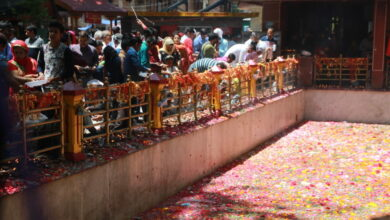 Photo of Kashmir: Thousands of devotees celebrated Mela Kheer Bhawani
