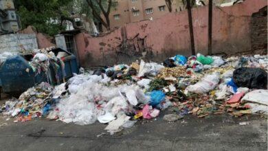 Photo of Mubarak Bazaar Main Market: Garbage dumped on road causing health issues