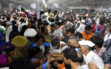 Thousands from all over India have fish medicine in Exhibition Grounds