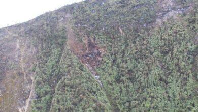 Photo of AN-32 crash: IAF search teams reach the crash site, no survivors found