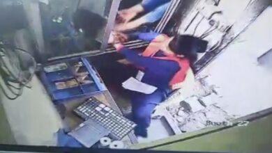 Photo of Woman slapped at Gurugram toll plaza