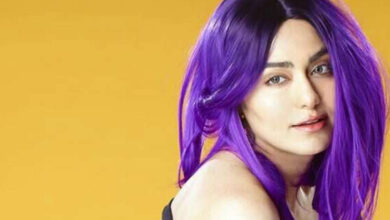 Photo of Purple, pink, orange: Adah flaunts three hair colours