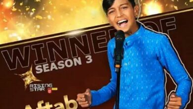 """Photo of Aftab wins reality TV show """"Rising Star 3"""""""