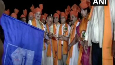 Photo of First batch of Amarnath Yatra flagged off from Jammu base camp