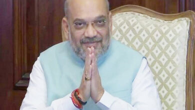 Photo of Amit Shah arrives in Gujarat for two-day visit, opens several projects