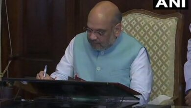 Photo of Amit Shah takes charge as Home Minister