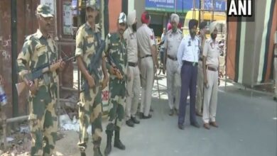 Photo of Operation Blue Star anniversary: Security personnel maintaining strict vigil across Amritsar city